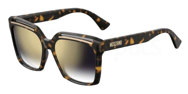 086 (FQ) MOS035/S Sunglasses, Moschino