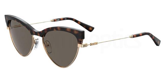 086 (IR) MOS068/S Sunglasses, Moschino