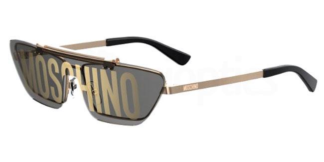 000 (0A) MOS048/S Sunglasses, Moschino