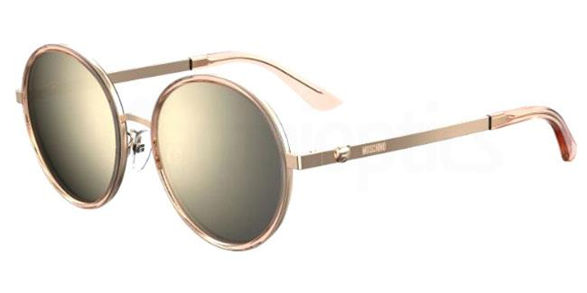 733 (UE) MOS059/F/S Sunglasses, Moschino