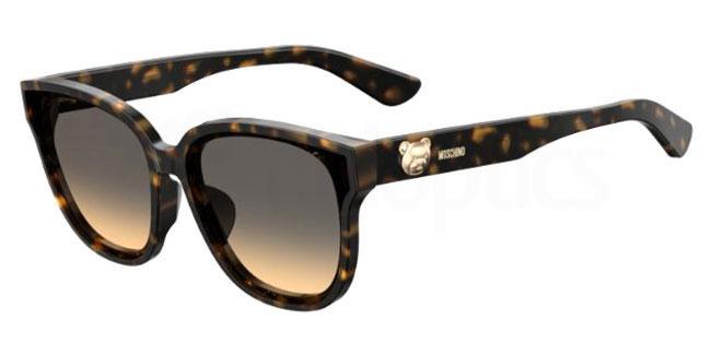 086 (GA) MOS060/F/S Sunglasses, Moschino