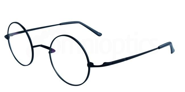 Black D8732 Glasses, Infinity