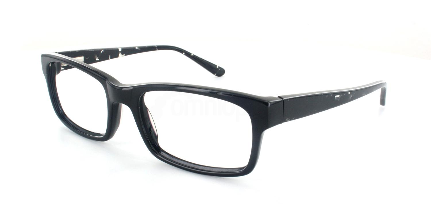 Black Crystal A6691 Glasses, Infinity