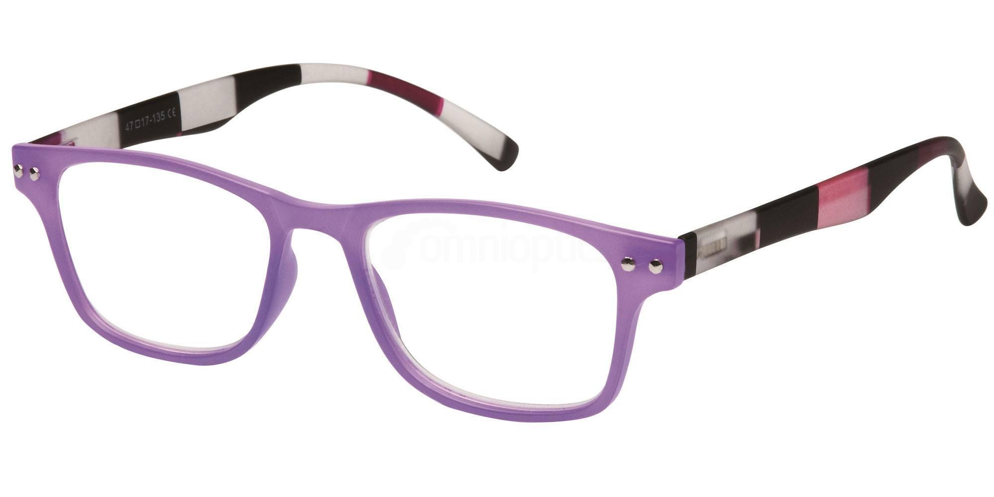 +3.50 Power Readers R15D - D: Lilac Accessories, Univo Readers