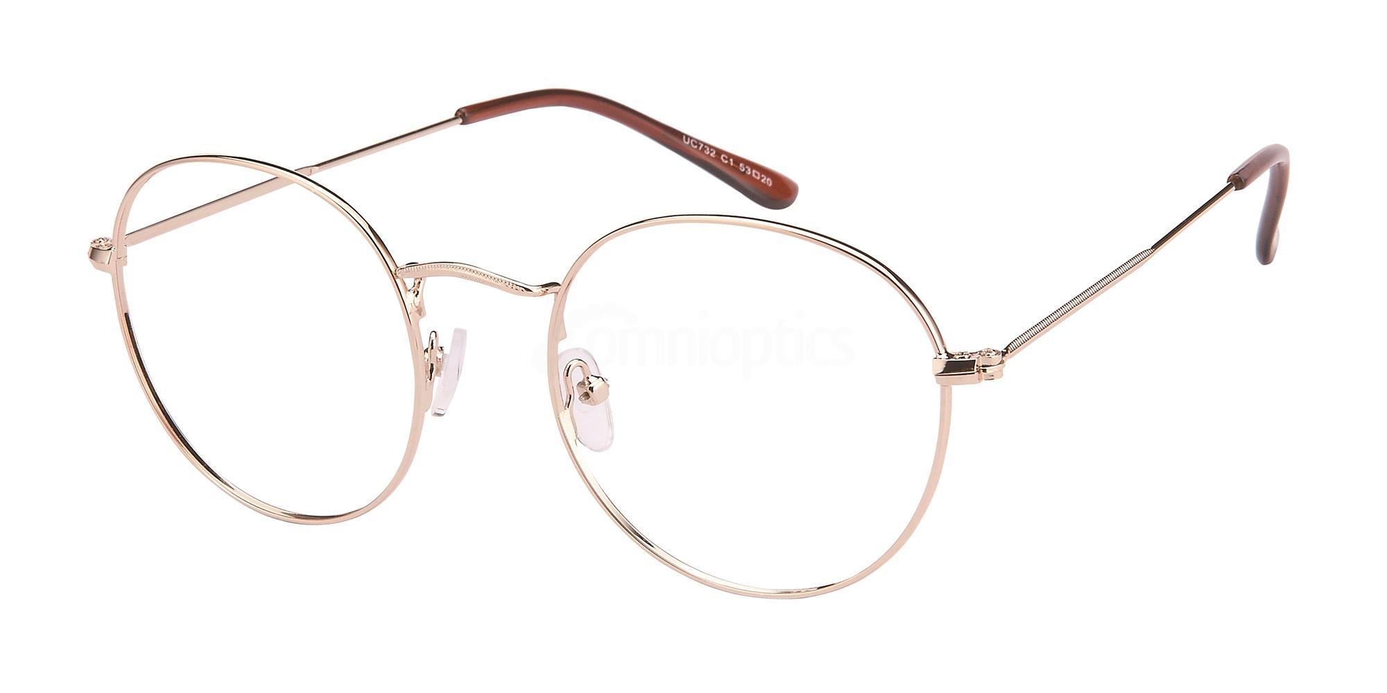 C1 UC732 Glasses, Univo Core