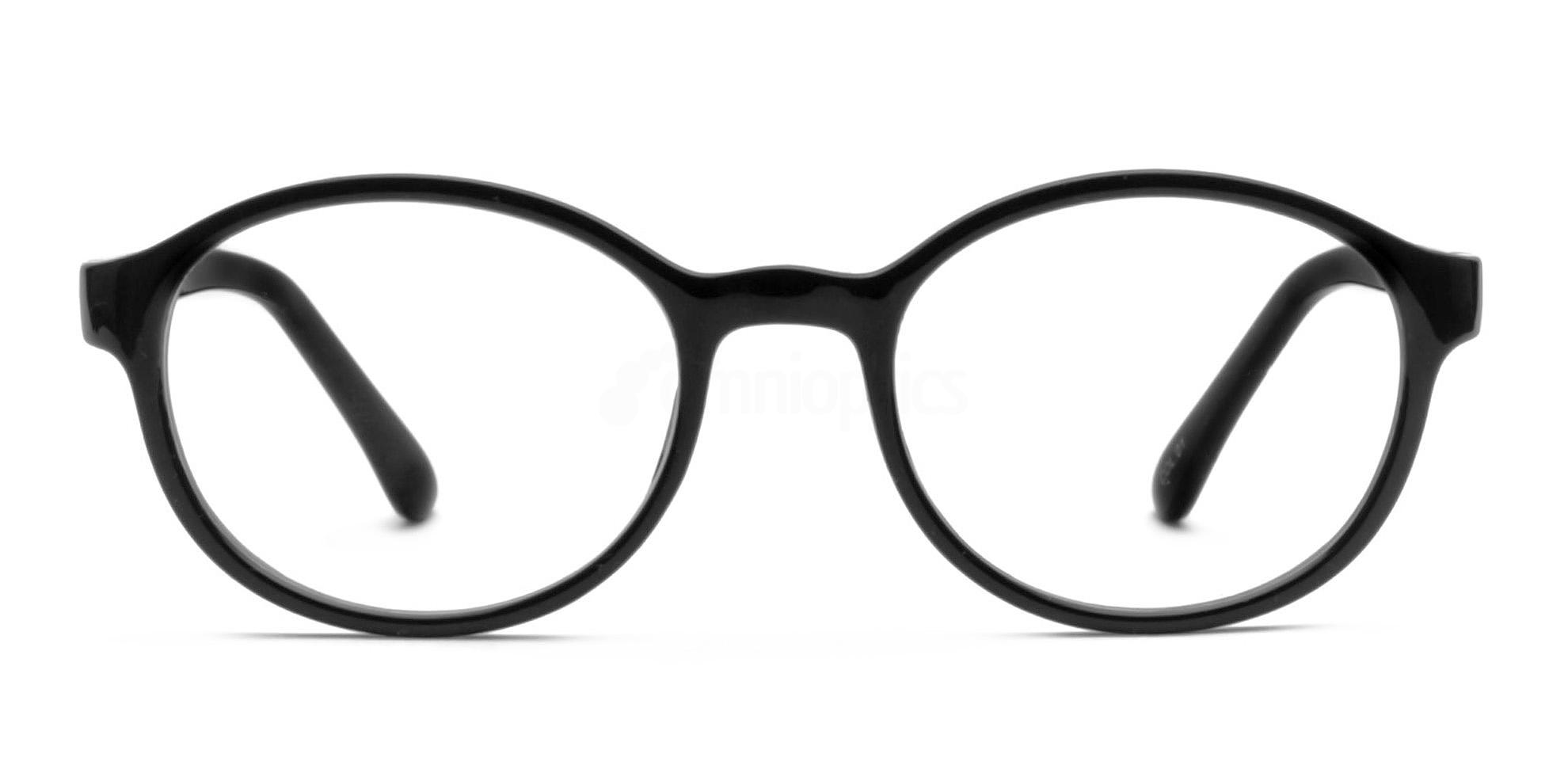 Black P6185 Glasses, Infinity