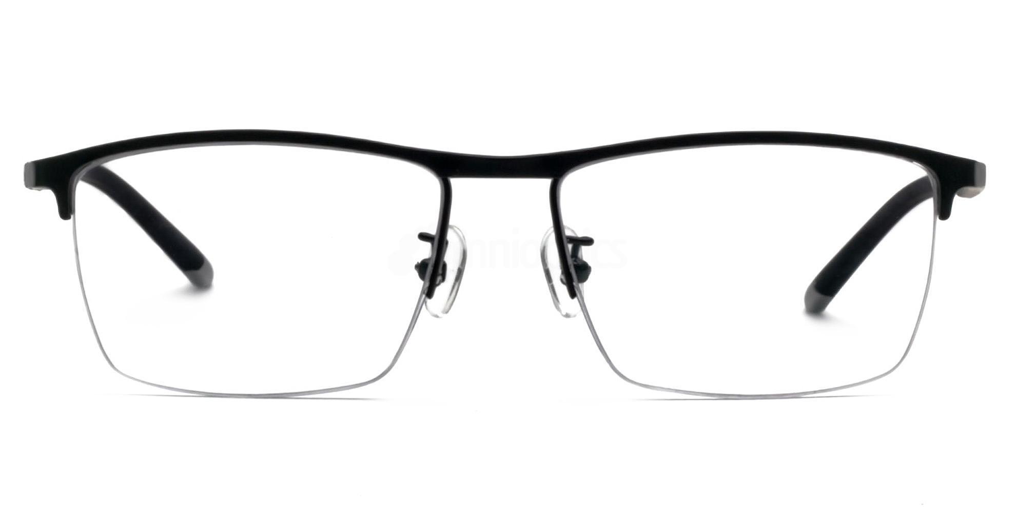 Black 1116 Glasses, Infinity