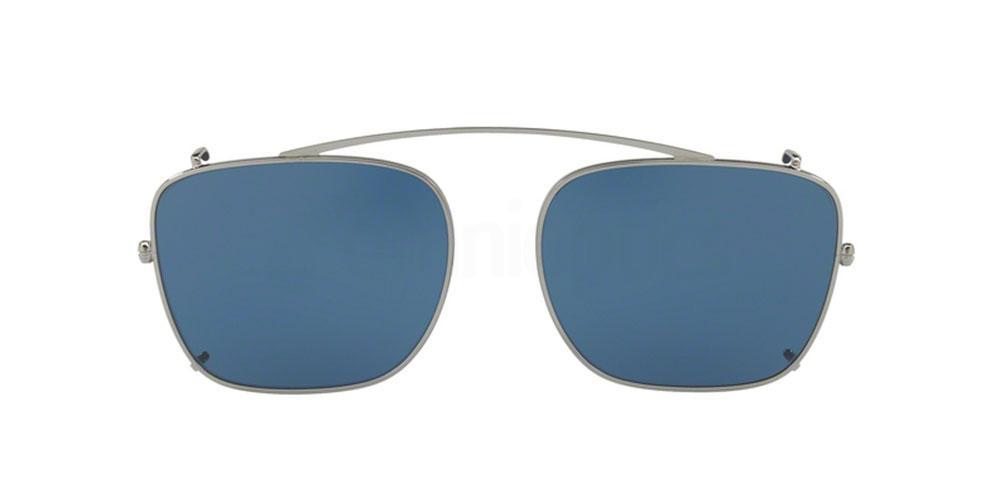 5AV1V1 PR 59TS Clip-On Sunglasses, Prada