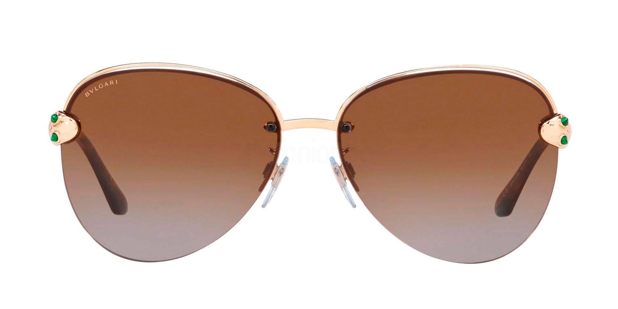 2041T5 BV6121KB Sunglasses, Bvlgari