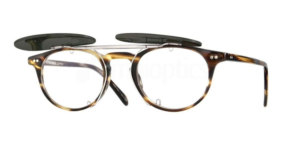 5036 OV5004C RILEY-R FLIP-UP CLIP Sunglasses, Oliver Peoples