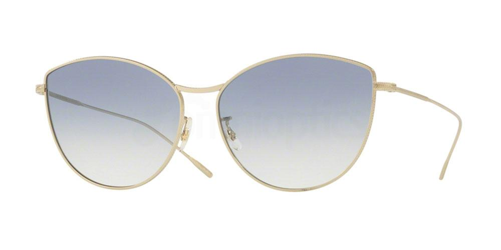 503519 OV1232S RAYETTE Sunglasses, Oliver Peoples