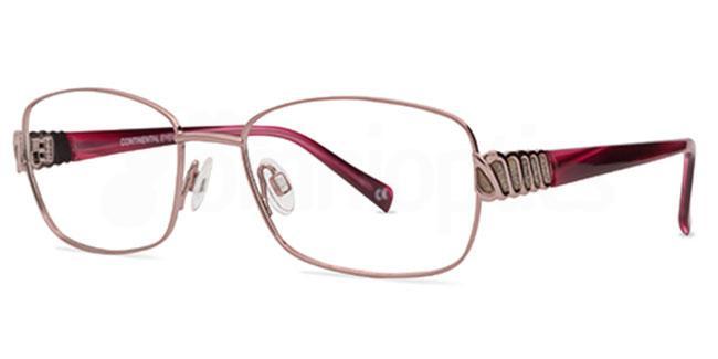 Rose 1274 Glasses, Jacques Lamont
