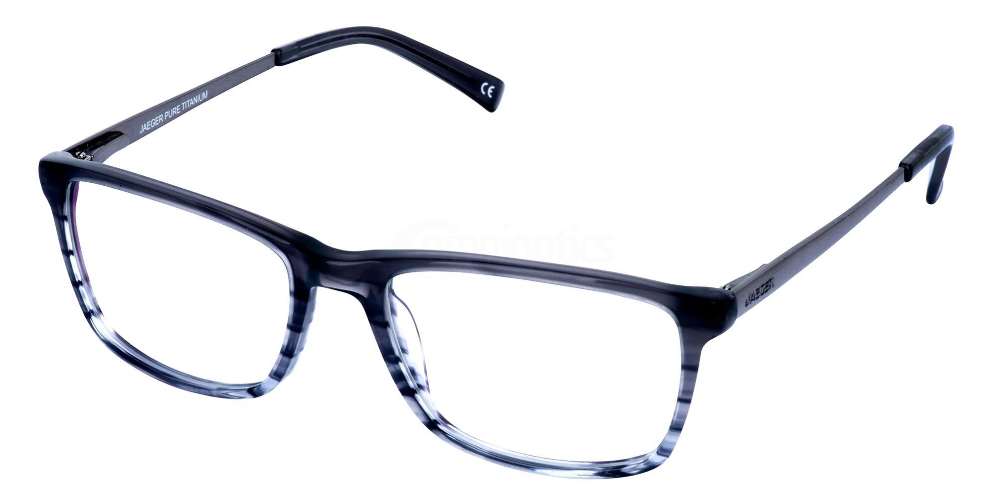 Grey 312 Glasses, Jaeger Pure Titanium