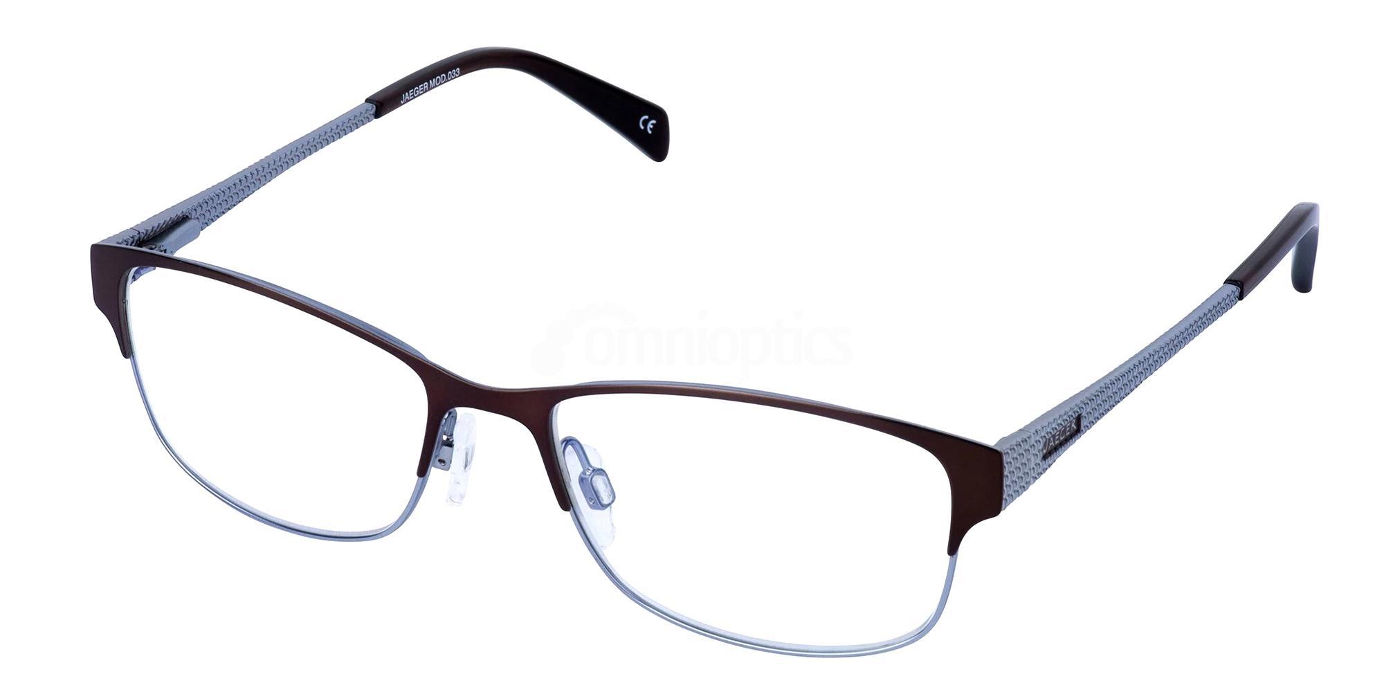 Brown / Blue 33 Glasses, Jaeger London