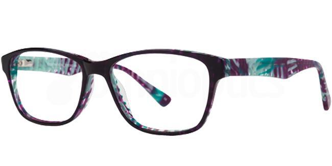 Purple MILLIE Glasses, Cameo