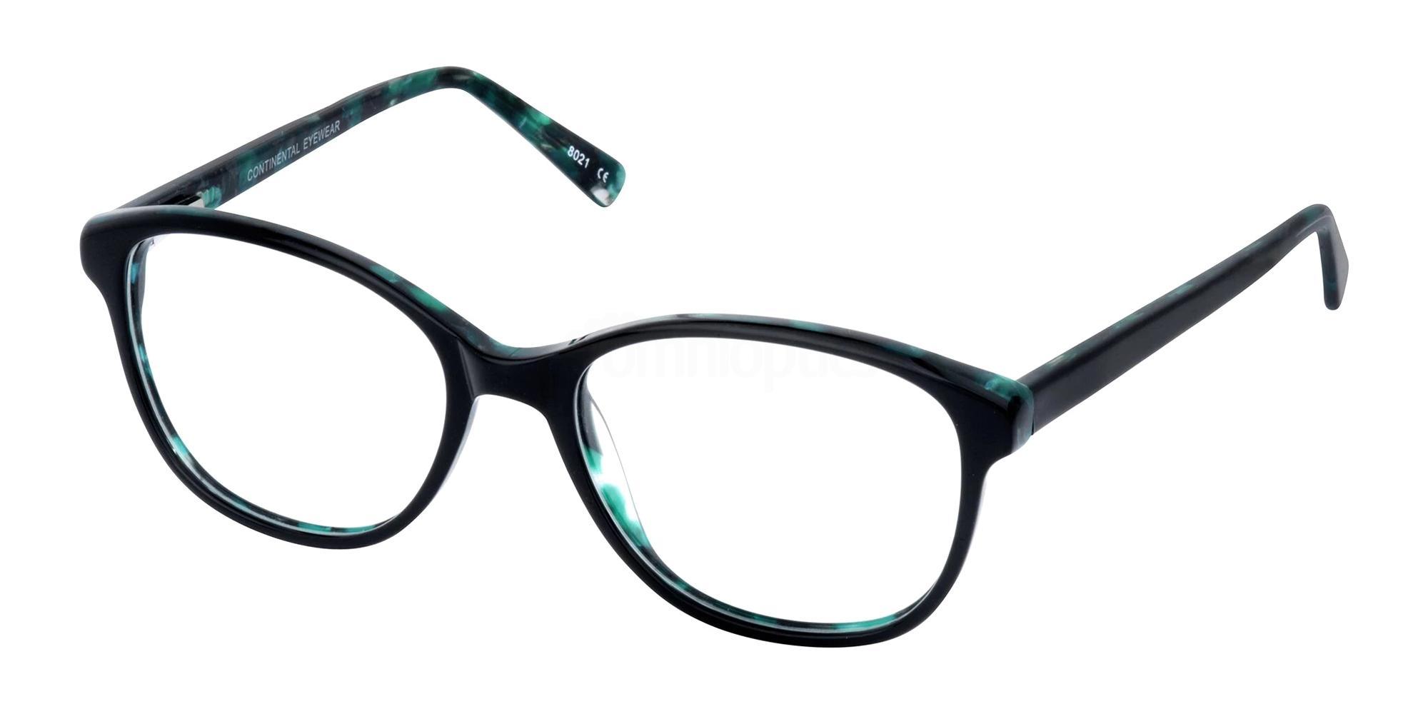 Black/Jade DEBBIE Glasses, Cameo