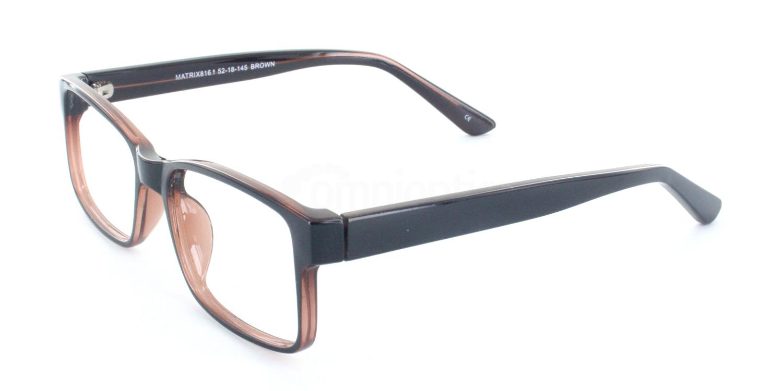 Brown 816 Glasses, Matrix