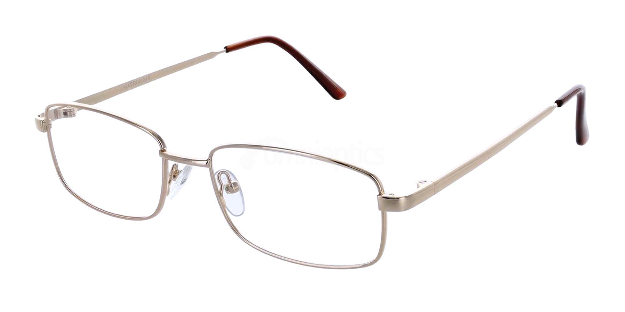 Gold 216 Glasses, Matrix