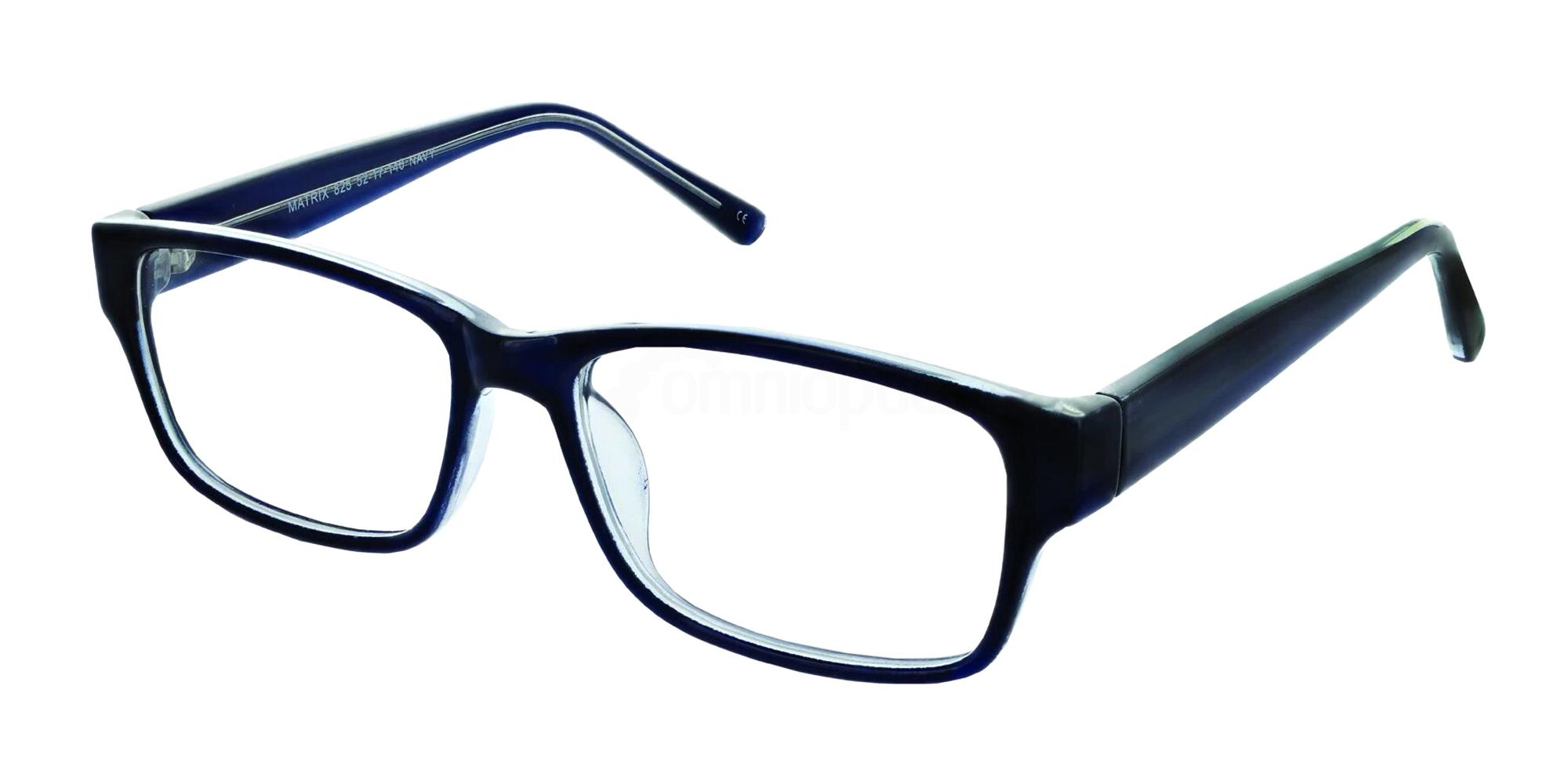Navy 825 Glasses, Matrix