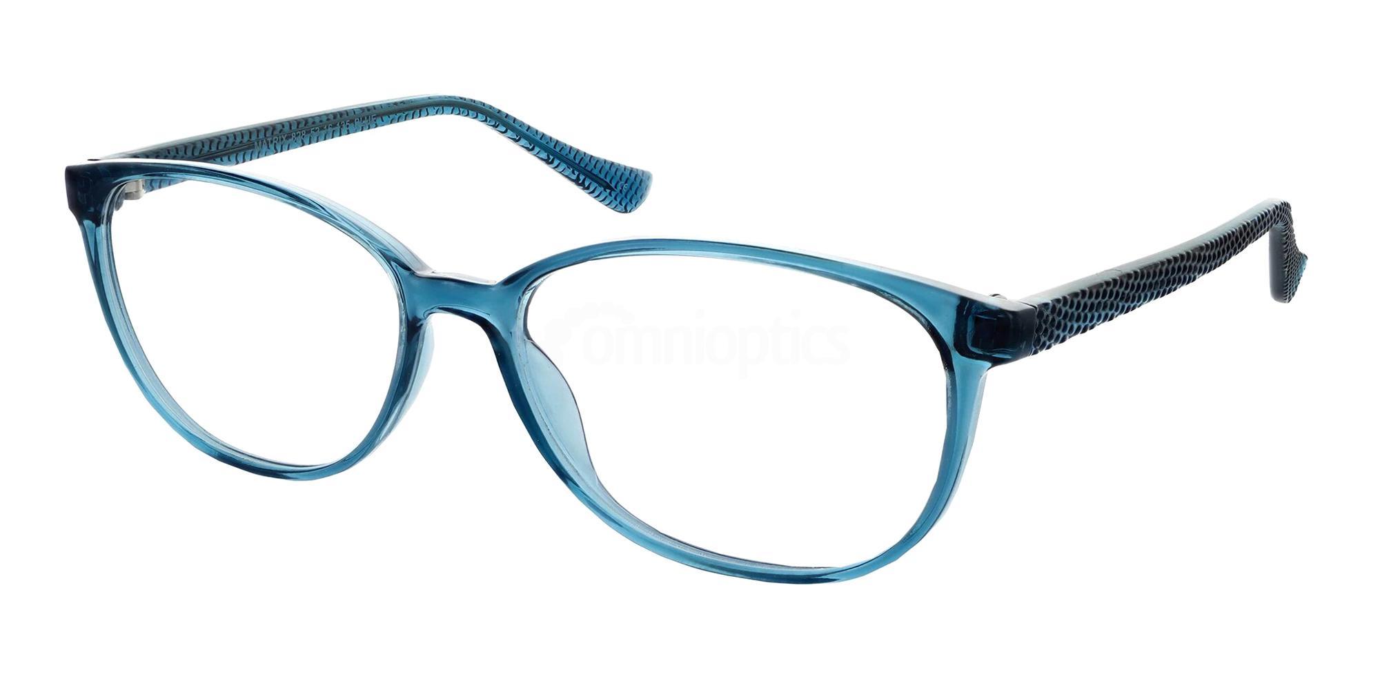 Blue 828 Glasses, Matrix