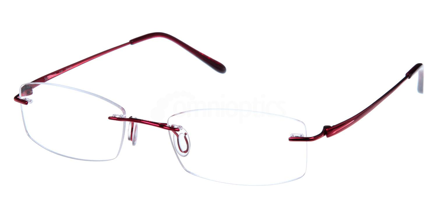 Red SL38 Glasses, Superlite Eyewear