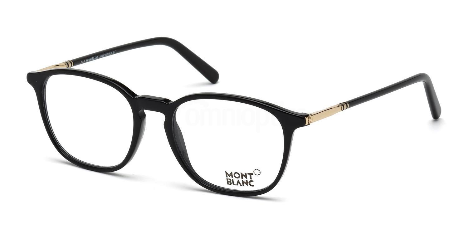 001 MB0539 Glasses, Mont Blanc