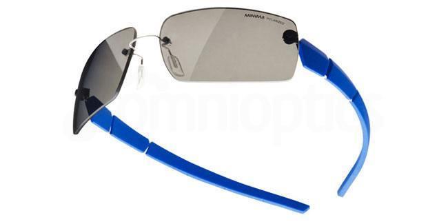201 Minima Sport-7 FM 29 Polarized (color lens 32P) Sunglasses, MINIMA