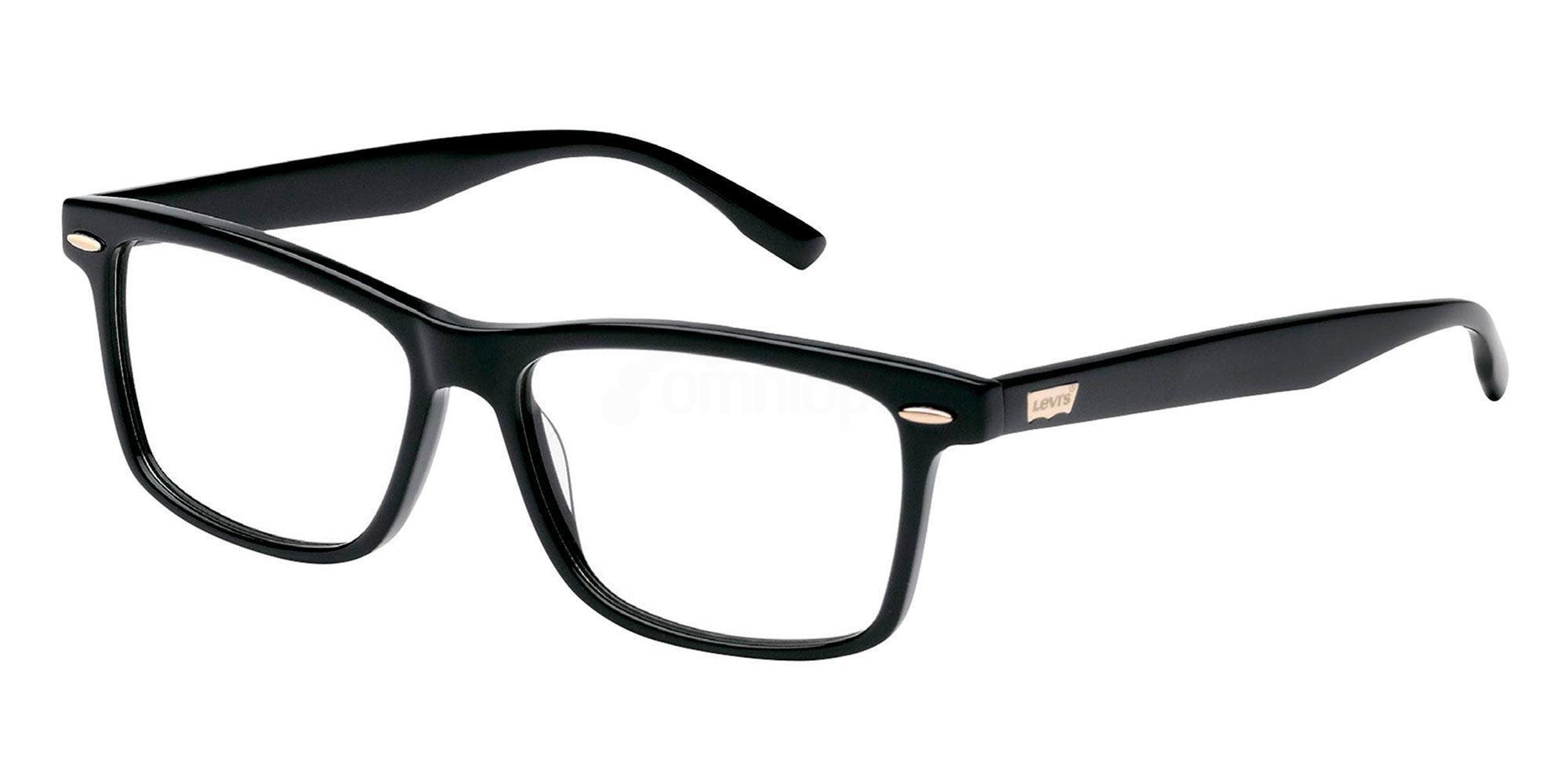 01 BLK LS122 , Levi's Eyewear