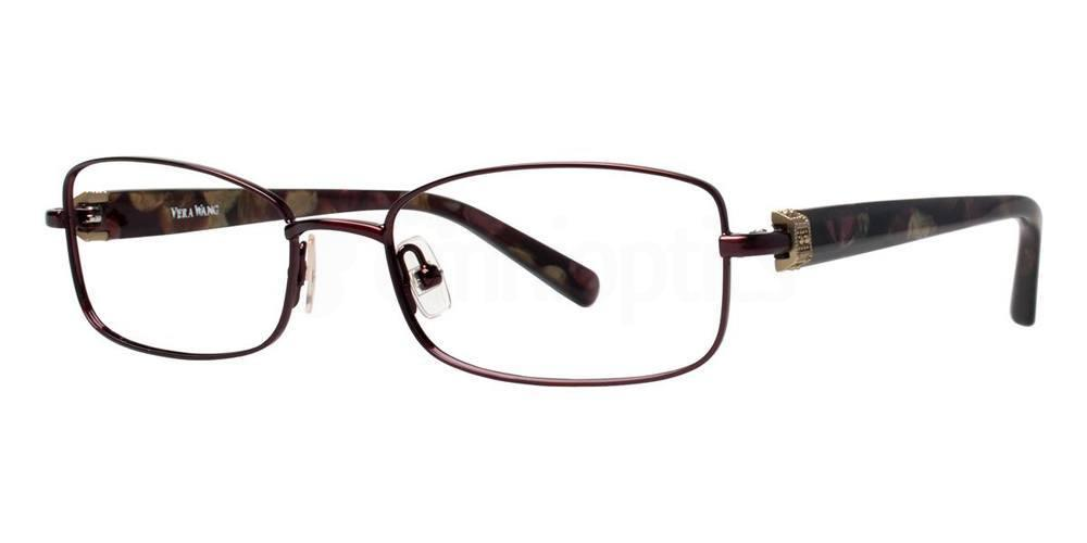 Burgundy V336 Glasses, Vera Wang