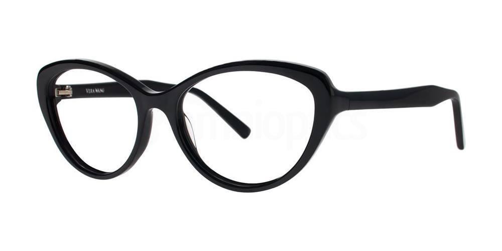 Black V367 Glasses, Vera Wang