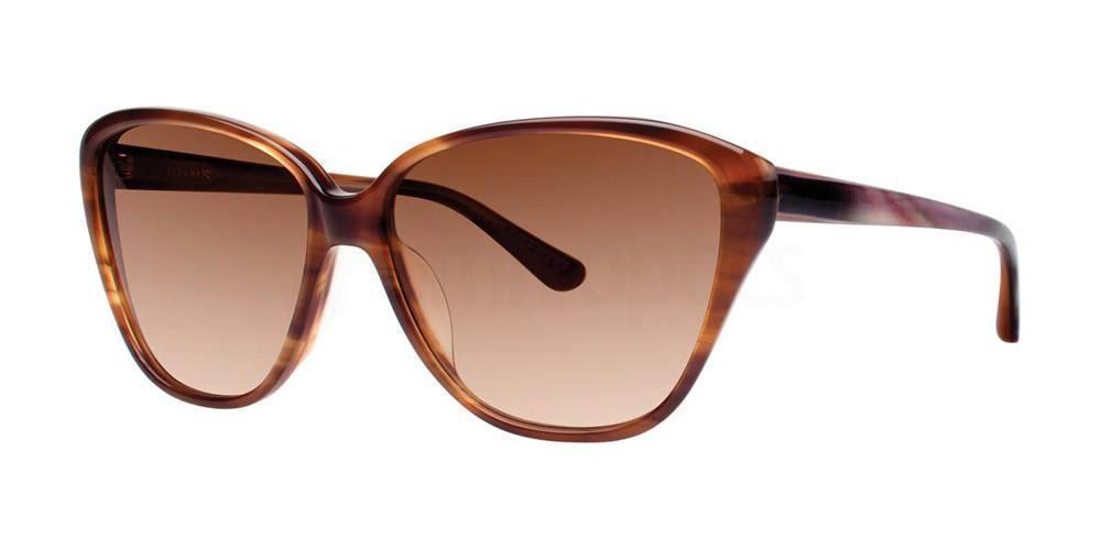 Chocolate V402 Sunglasses, Vera Wang