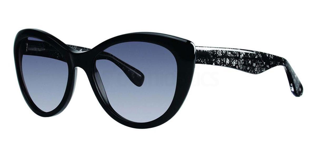 Black SABINA Sunglasses, Vera Wang