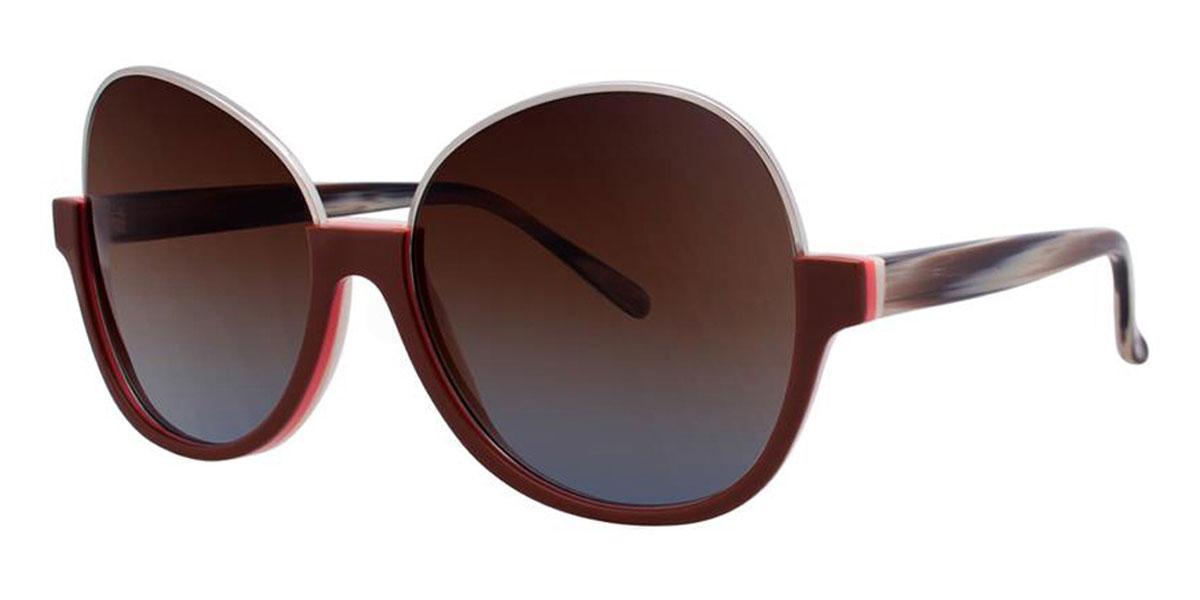 Caramel SAPPHO Sunglasses, Vera Wang