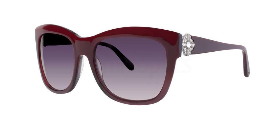 Burgundy RIVAN Sunglasses, Vera Wang Luxe