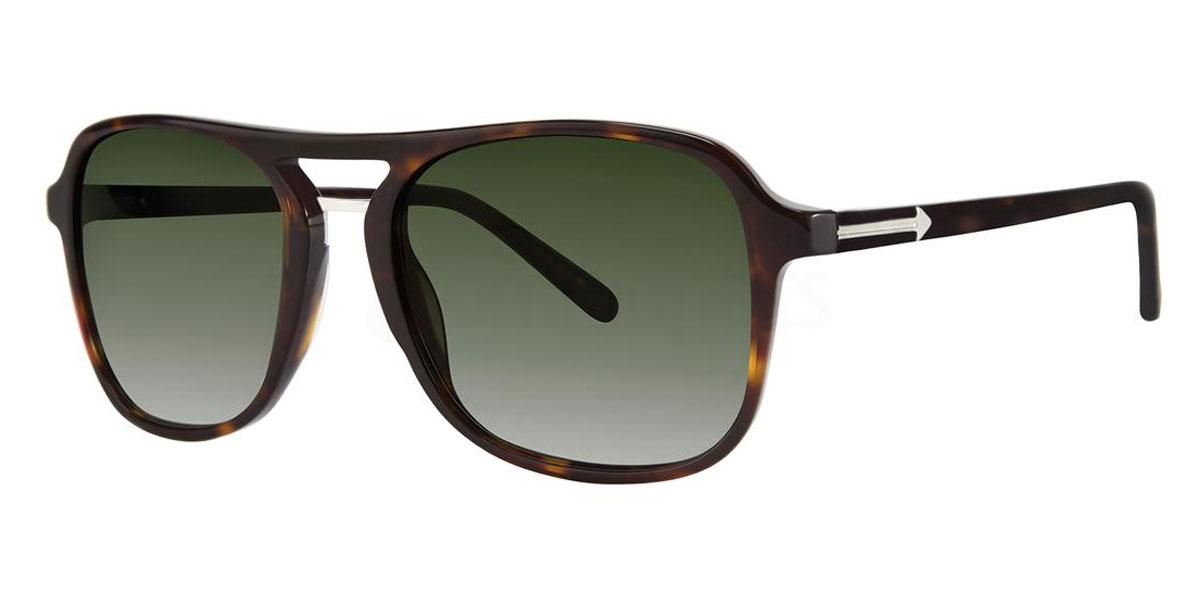 Tortoise THE SHELDON SUN Sunglasses, Original Penguin