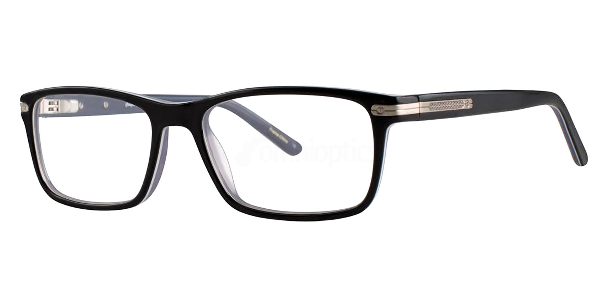 Black GARRETT Glasses, Comfort Flex
