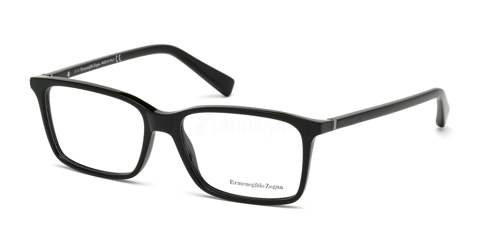 001 EZ5027 Glasses, Ermenegildo Zegna