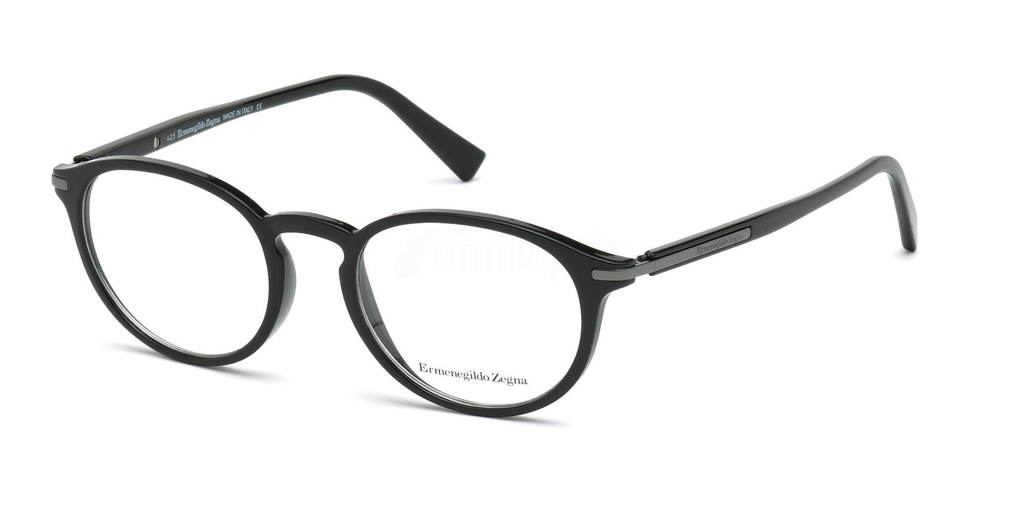 001 EZ5042 Glasses, Ermenegildo Zegna