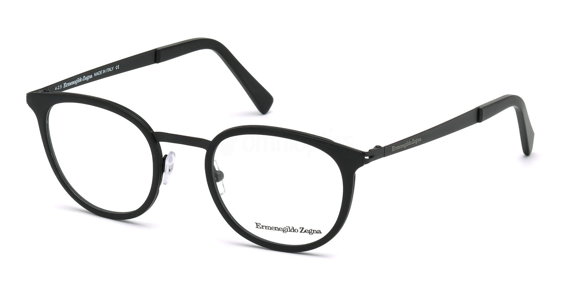 002 EZ5048 Glasses, Ermenegildo Zegna