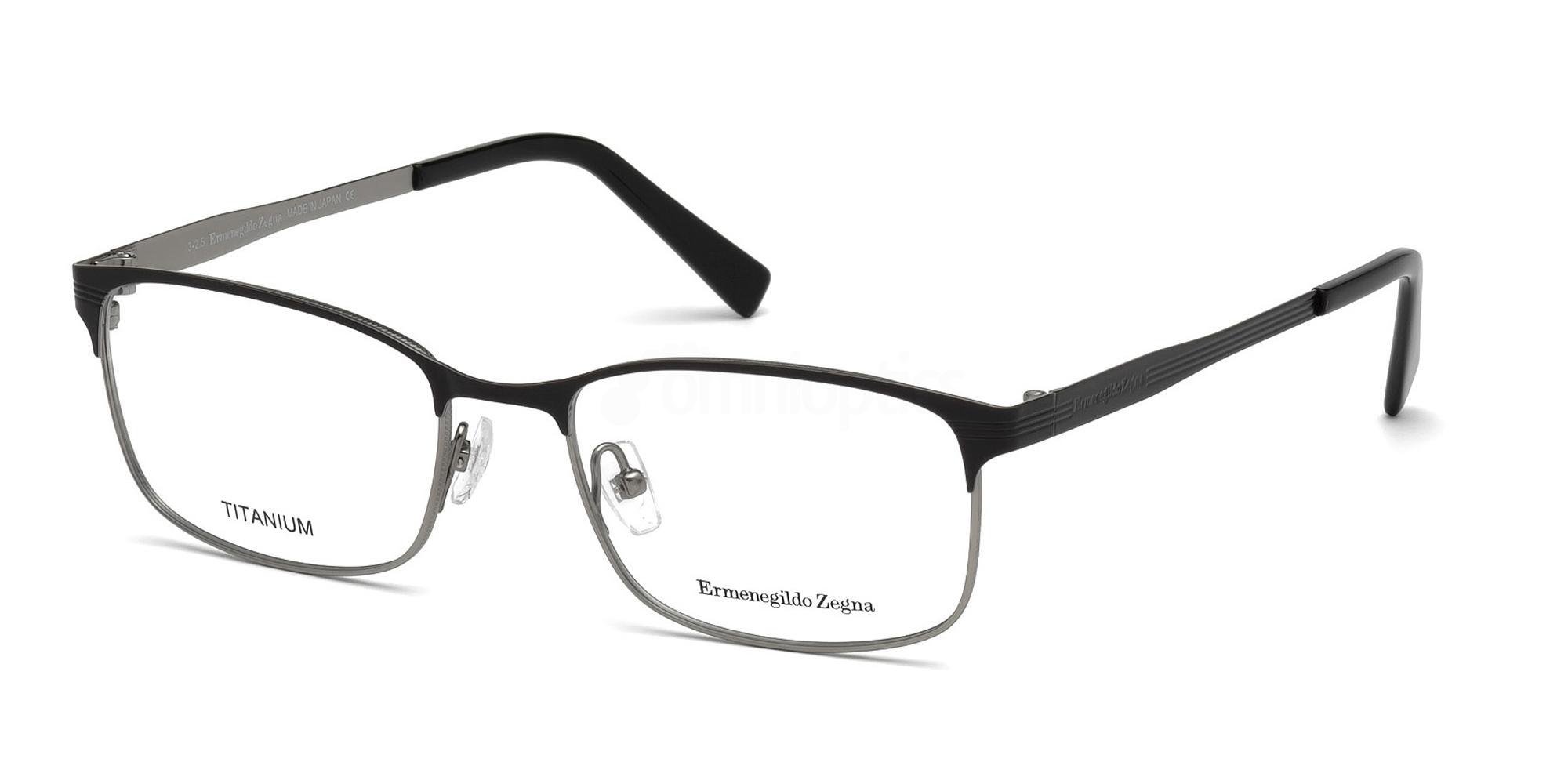 005 EZ5049 Glasses, Ermenegildo Zegna