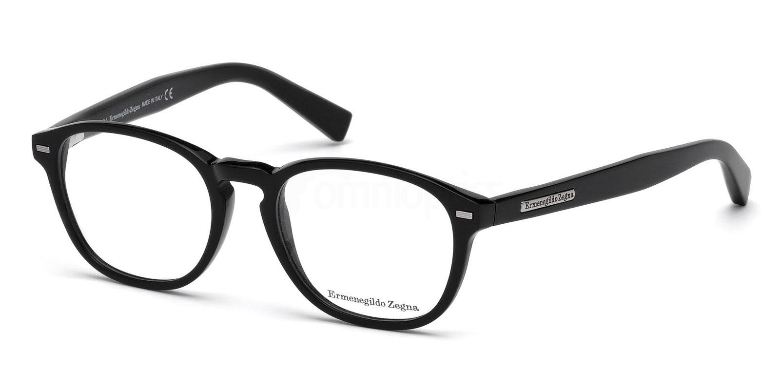 001 EZ5057 Glasses, Ermenegildo Zegna