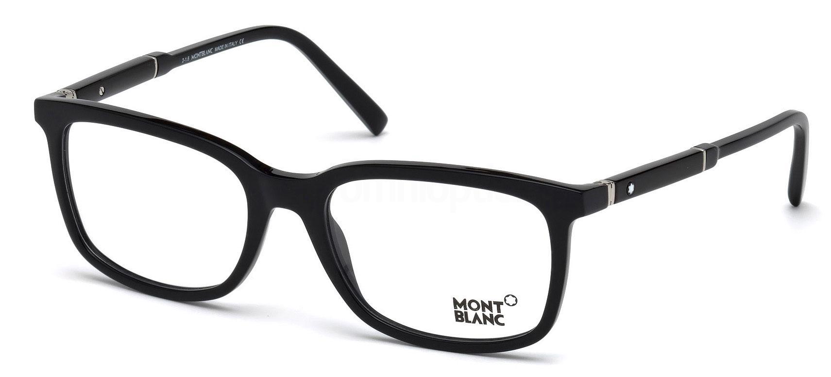 001 MB0638 Glasses, Mont Blanc