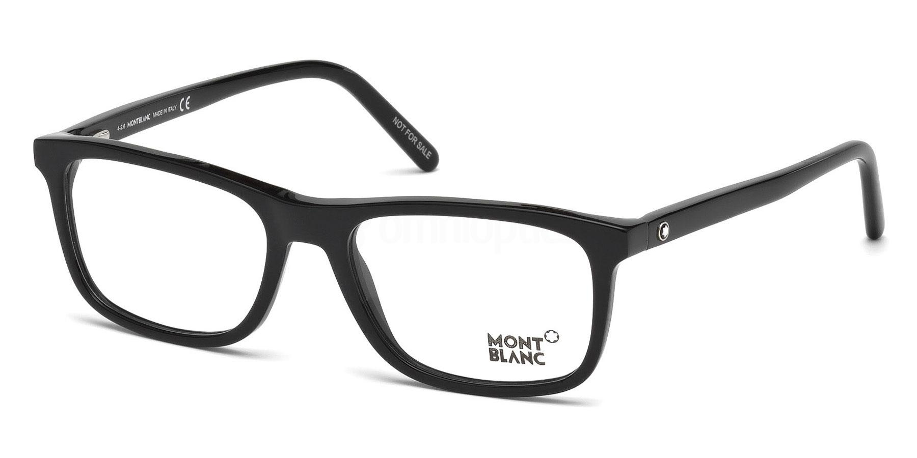 001 MB0672 Glasses, Mont Blanc