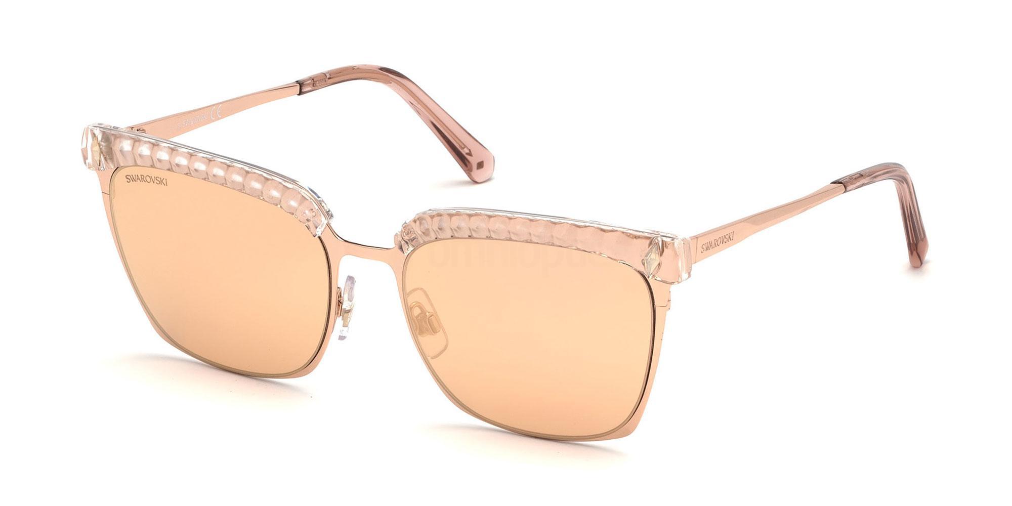 33G SK0196 Sunglasses, Swarovski