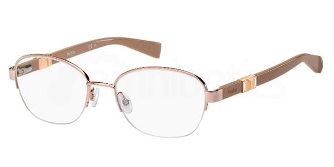 35J MM 1304 Glasses, MaxMara Occhiali