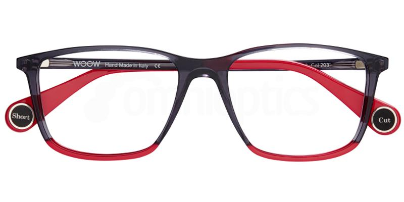 203 SHORT CUT 1 Glasses, Woow