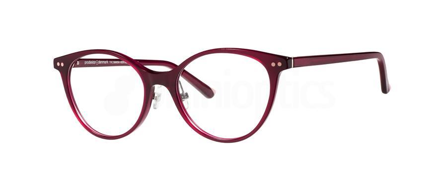 3832 3605 - 1 with nosepads Glasses, ProDesign Denmark