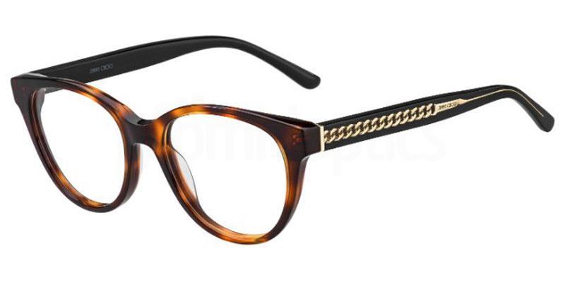 581 JC194 Glasses, JIMMY CHOO
