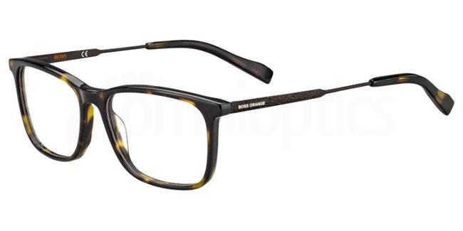 086 BO 0307 Glasses, Boss Orange