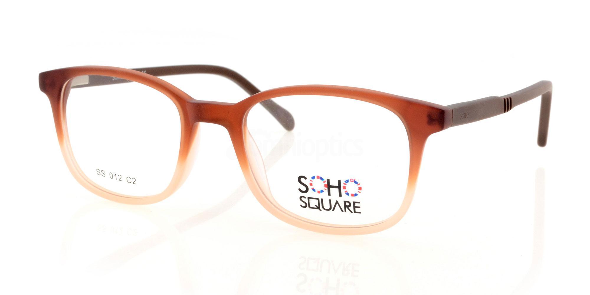 C2 SS 012 Glasses, Soho Square